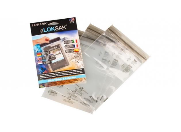 LOKSAK® 15,9 x 22,9 (I-pad mini) cm - 3st
