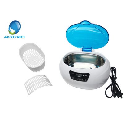 Ultrasonic Stainless Steel Multi Purpose Sonic Wave Cleaner - suitable for The vibrations of the liquid caused by the sonic waves cleans off dirt, dust and smears from surfaces of items such as jewellery, household commodities, glasses, coins and more. Wi