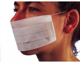 2 plis masques jetables - papier - (100)