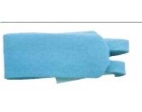 Fixatiebandje voor tracheostomie blauw volwassenen (10)