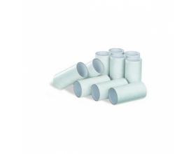 Kartonnen mondstukken voor longfunctie metingen, passend bij de Micro Spirometer. Verkrijgbaar in verschillende verpakkingen, standaard verpakkingen van 100 of 500 stuks.
